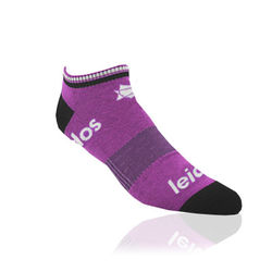 PMS-Matched Performance Ankle Socks with Knit-In Logo (Longer Ship, Higher Mins)