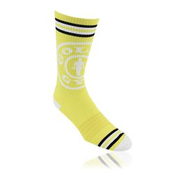 PMS-Matched Performance Calf Socks with Knit-In Logo  (Longer Ship, Higher Mins)
