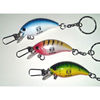 Fishing Lure Keychain with Clasp