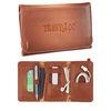 Leather Accessories Wrap with Secret Hidden Pocket