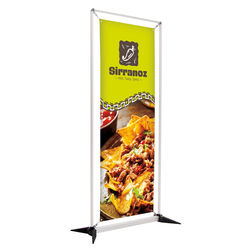 "23.5"" x 67"" VINYL Banner in Frame (Double Sided)"