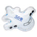 Airplane Shape Hot-Cold Pack with Gel Beads