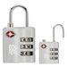TSA-Approved Travel Luggage Lock