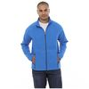 Quick Ship MEN'S Full-Zip Microfleece with Retail Inspired Contrast Stitching and Thumb Holes