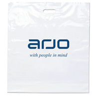 Eco Plastic Bag with Die Cut Handle - 12