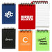 """3.25"""" x 5"""" Spiral Bound Jotter with Colorful PVC Cover"""