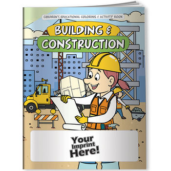 Building & Construction Coloring & Activity Book