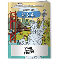 Across the US (State Capitals) Coloring & Activity Book