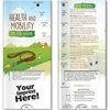 Health and Mobility Tips for Seniors Pocket Slider Info Card