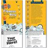 Fitness Tips for Busy People Pocket Slider Info Card