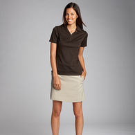 Cutter & Buck® Ladies' Jacquard Knit DryTec Polo