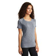 Ladies' Tri-Blend Wicking Raglan Tee