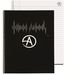 """8"""" x 10"""" Spiral Composition Notebook with 40 Ruled Sheets - Logo on Each Sheet!"""