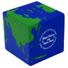 Earth Globe Cube Stress Reliever
