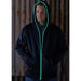 Men's Full-Zip Hoodie with Battery-Powered Glow Piping
