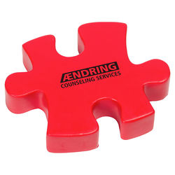 Single Puzzle Piece Stress Reliever