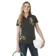 Quick Ship LADIES' 100% Cotton Jersey Polo - GOOD