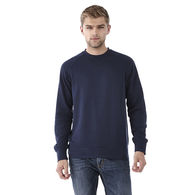 Quick Ship MEN'S Ultra Soft Crewneck Sweatshirt with Thumbholes