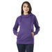 Quick Ship LADIES' Ultra Soft Fleece Pullover Hoodie Sweatshirt with Thumbholes - BETTER