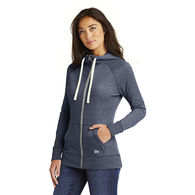 New Era® Ladies Buttery Soft Sueded Cotton Full-Zip Hoodie