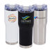 24 oz Hot/Cold Vacuum Tumbler with Leak-Proof Lid with Optional Raised Full Color Printing