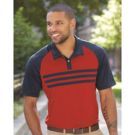 Adidas® Men's Climacool 3-Stripe Polo Shirt