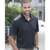 Adidas® Men's Climacool 3-Shoulder Stripe Polo Shirt