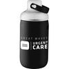 20 oz Glass Bottle with Soft Grip Sleeve