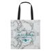 """16"""" x 16"""" Marbled Tote Bag with 23"""" Handles"""