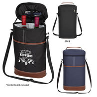Double Wine Bottle Insulated Cooler Bag