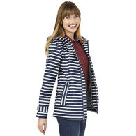 Charles River® Ladies' Striped Rain Jacket
