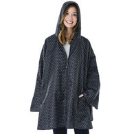 Charles River® Ladies' Polka Dot Pack and Go Poncho