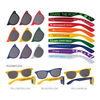Mix & Match Sunglasses with Full-Arm Imprints - Deluxe