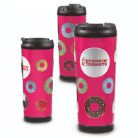 16 oz Bubble Double Wall Tumbler with Full Color Printing
