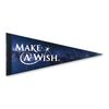 "8"" x 18"" Premium Felt Pennant with Full-Color Printing"