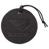 *NEW* Round Faux Leather Luggage Tag Holds a Business Card