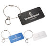 Aluminum Luggage Tag with Rounded Corners