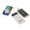 Qi Wireless 10,000 mAh Power Bank with Display - Charges Phones & Tablets
