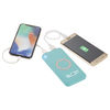 Qi Wireless 6000 mAh Power Bank with Rubberized Finish - Charges Phones & Tablets