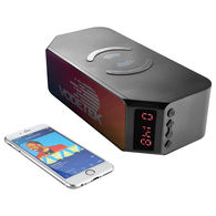 Desktop Bluetooth Speaker with Wireless Charging 4000 mAh Power Bank