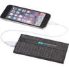 *NEW* Universal Power Bank with Snow Canvas - 4000 mAh - Plastic, Charges Phones