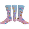 *NEW* Thinner Dress Socks with All Over Full-Color Printing (Longer Ship)