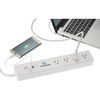 *NEW* Wi-Fi Smart Power Strip with 4 Controllable Plugs and 2 USB Outlets Allows you to Control Your Devices from Anywhere!