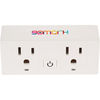 *NEW* Wi-Fi Smart Plug with 2 Controllable Plugs Allows you to Control Your Devices from Anywhere!