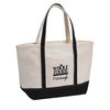 *NEW* Natural Canvas Zippered Tote