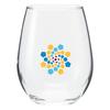 12 oz Stemless Wine Glass