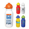 *NEW* 20 oz. Value Cycle Bottle with Safety Helmet Push 'n Pull Cap, Full Color Digital Imprint