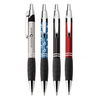 Aluminum Push-Action Ballpoint Pen (Full Wrap Laser Engraving)