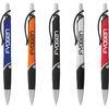 *NEW* Scripto® Ballpoint Pen with Metallic Barrel and Black Rubber Grip