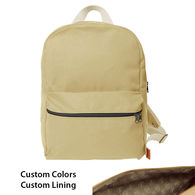 Backpack with Custom Lining - Color Combos Made To Order in the USA!